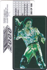 Michael Jackson Carte Telephone Phonecard Calling Phone Card USA 1990s