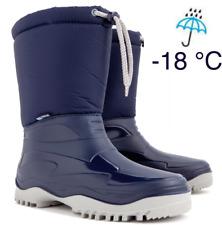 Kinder Herren Damen Winterschuhe Winterstiefel Snowboots Gefüttert Gummistiefel