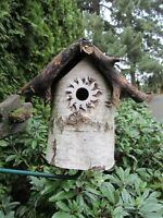 "Bird House Accessories PREDATOR GUARD sunburst with a 1 3/4"" opening"