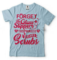 Nurse T-shirt Funny Tee Shirt Scrubs RN Doctor Nurse CNA Nursing Assistant Tee