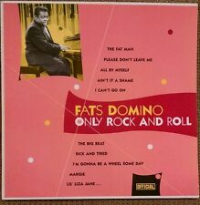 FATS DOMINO Only Rock and Roll LP~Fat Man~Ain't It A Shame~Official Denmark NM