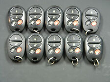 LOT OF 10 TOYOTA SIENNA KEYLESS ENTRY REMOTE FOB GQ43VT20T 1470A-1T VTR5002-562