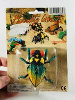Vintage Horrible Insects NIP wind up walking toy bug