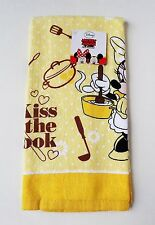 "Disney - Minnie Mouse ""Kiss the Cook"" Kitchen Towel"