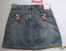 Gymboree Lots of Dots Button Pockets Demim Jean Skirt Skort 12 NWT New HCTS