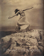 Edward Steichen Photo, Therese Duncan at the Acropolis,  1921