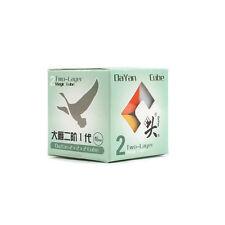 New Dayan Zhanchi 2x2x2 Magic Cube 46MM 2x2 Puzzle Spring Speed Rare Stickerless