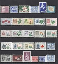 Canada 1963-1964 Year Set, Commemoratives & Definitives - MNH Fresh*