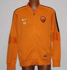 nike as roma STORM FIT no match day authenticated tracktop felpa training