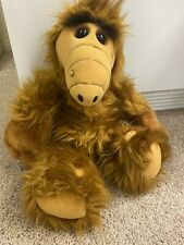 """1986 Wisecracking Talking Alf 18"""" Plush Doll Coleco Alien Productions-Works"""