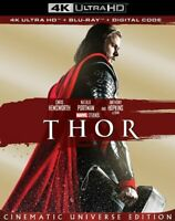 Thor 4K + Bluray (No Digital) With Slip Cover Brand New Untouched