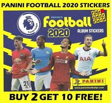 PANINI FOOTBALL 2020 PREMIER LEAGUE STICKER COLLECTION 1-138 BUY 2 GET 10 FREE!