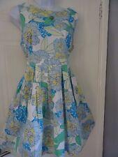 STUNNING  LADIES DOROTHY PERKINS  SUMMER   TEA    DRESS   SIZE  16