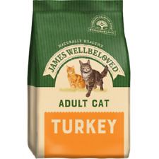 James Wellbeloved Cat Adult Light Indoor Hairball Oral Care Grain Free Turkey