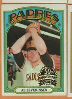 2021 Topps Heritage - 50th Anniversary Buy Back - #274 Al Severinsen - SD Padres
