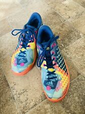 New listing Adidas Barricade Tennis/Court Shoes Men's 9.5 POP ART Multi-Color Ltd Edition