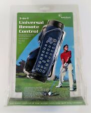 NEW RadioShack 3-in-1 Universal TV Remote Control In Golf Bag NIP Mo. 15-2127
