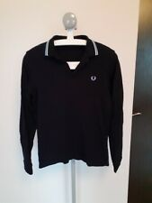 Fred Perry Twin Tipped L/S Slim Fit Polo XS Extra Small Mod Ska Scooter Casuals