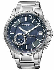 CITIZEN WORLD TIME GPS ECO-DRIVE SATELLITE WAVE WATCH CC3000-54L. CC3000-89L