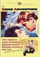 Rome Adventure [New DVD] Manufactured On Demand, Mono Sound, Subtitled, Amaray