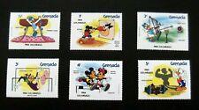 Grenada-1984-LA Olympics/Disney-Full set-MNH