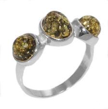 Ring Bernstein Amber Silber 925 Ringgröße 56