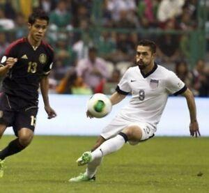 Nike USMNT CENTENNIAL OFFICIAL Game Shorts Worn By Hércules Gomez #9