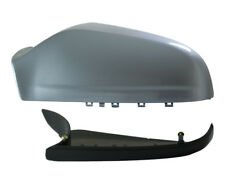 Vauxhall Astra H MK5 04-09 Wing Mirror Cover & Lower Holder LHS Silver Lightning