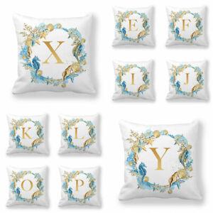 Letter Printed Pillows Covers Home Supplies Cushion Covers Pillowslip Pillowcase