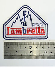 Club Lambretta Patch - Embroidered - Iron or Sew On