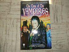 Paperback HORROR-TheTIME OF THE VAMPIRES Edited by Elrod&Greenberg/Sept1996 1st
