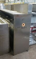 """Exhaust Hood System, 20' long, 54"""" deep, Type I, Complete system - makeup/fans"""