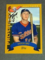 Jason Bay Signed Rookie New York Mets 2002 Topps #326 PSA/DNA JSA Guaranteed