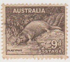 (PDX238) 1938 AU 9d platypus (E)