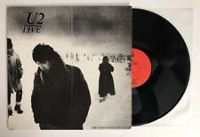 U2 - LIVE 1982 - The Strength Of Youth - LP Record (NM-) Ultrasonic Clean