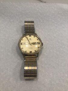 Vintage Zodiac SST 3600 Watch running