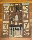 Vintage 1920's Egyptian Revival Art Deco Tapestry Wall Hanging