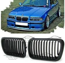 FRONT GRILLS BLACK FOR BMW E36 96-99 M3 LOOK SPOILER BODY KIT NEW