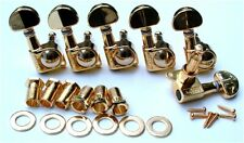 Guitar Parts WILKINSON MINI ROTOMATIC Roto - 6 In Line - TUNERS SET - GOLD