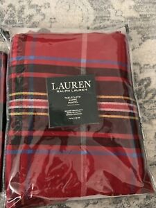 Ralph Lauren tablecloth round and 4 Napkins Set New