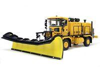 Oshkosh Truck w/ Snow Blower & Snow Plow - Yellow TWH 1:50 Scale #072-01055 New!