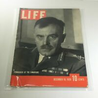 Vintage Life Magazine: December 18 1939 - Commander Of The Canadians