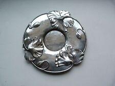 Plateau vide-poche GALLIA métal argenté Christofle Art Nouveau Jugendstil 1900