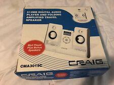 512 Digital Audio Player & Amplified Travel Spekers