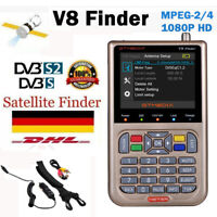 "GTMEDIA V8 Finder 3,5""LCD Digital Satellitenfinder Satfinder Messgerät DVB-S/S2X"