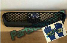 ** Free glove ** w/ genuine JDM Subaru OEM grille 2015 / 2016 / 2017 WRX STi S4