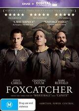 FOXCATCHER New Dvd + UV CHANNING TATUM STEVE CARELL ***