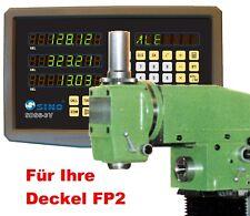 3-Achsen-Digitalanzeige / Positionsanzeige und Maßstäbe für Deckel FP2 NEU