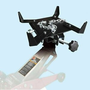 1/2 ton Transmission Jack Adapter Capacity TRANSFORM Automotive Floor Jack