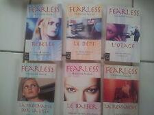 lot 6 romans Francine Pascal FEARLESS tomes 1 à 6 ( en français)